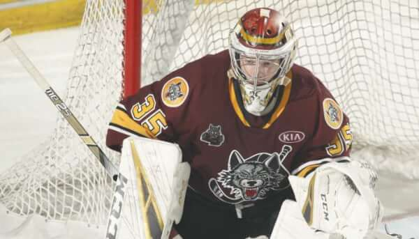 Dansk and Sparks join the Chicago Wolves