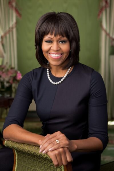 Former First Lady Michelle Obama, courtesy of Wikipedia
