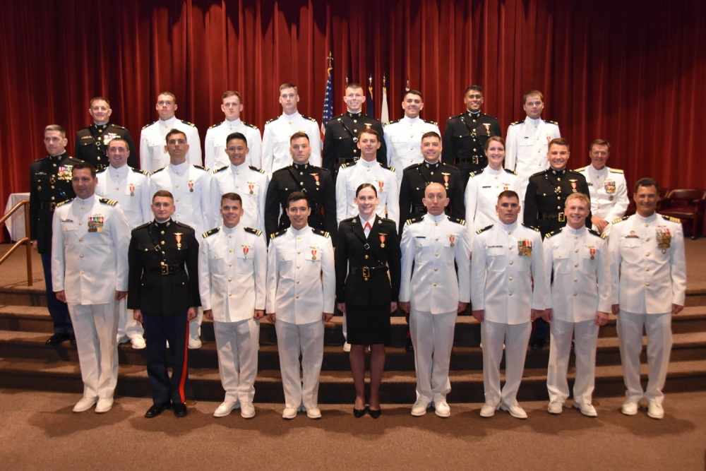 Wings of Gold Awarded to  Whiting Unit