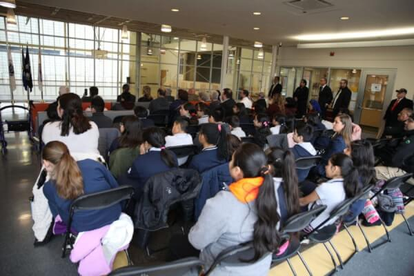 """Audience at presentation by Emanuel """"Chris"""" Welch, the State Represenative of the 7th House District who was the keynote speaker at the Town of CIcero annual Commemoration for the late Dr. Martin Luther King Jr. Photo courtesy of the Town of Cicero"""