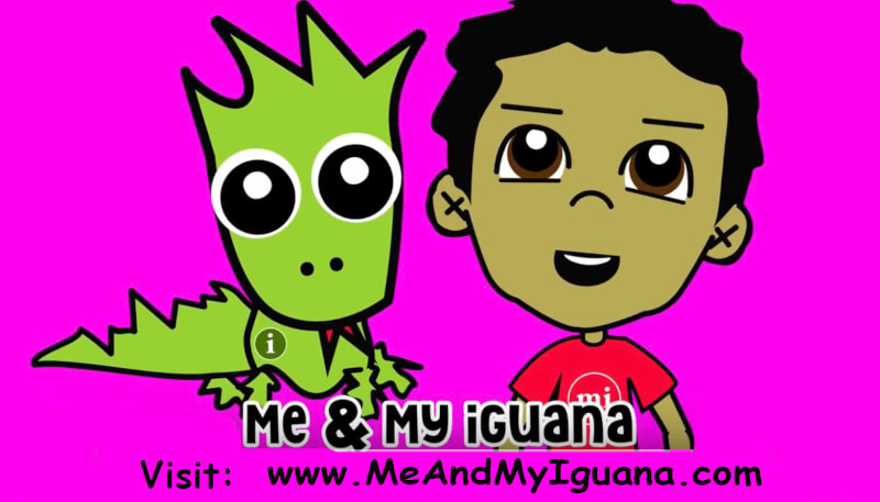 Maria Pappas launches animated Iguana and song to ease concerns of children during Coronavirus scare