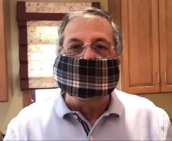 Make your own coronavirus COVID-19 pandemic face mask.