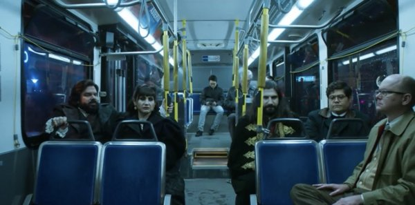 Scene from What We Do in the Shadows, the FX vampire comedy series streamable from Hulu.