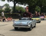 The Shriners won't be driving their tiny cars on downtown streets in the La Grange Pet Parade this year. Organizers are taking it virtual, as the live parade has fallen victim to the coronavirus. Photo by Steve Metsch.