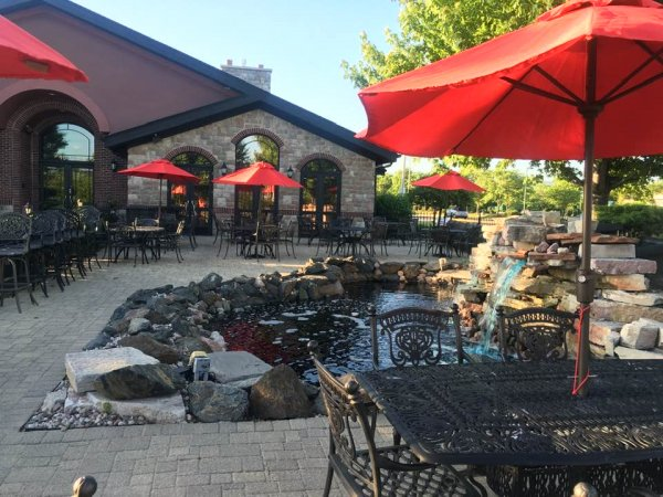 The outdoor patio at 94 West Steak & Seafood Restaurant in Orland Park is one of thousands of restaurants that will benefit from Gov. Pritzker's new plan to allow outdoor food service