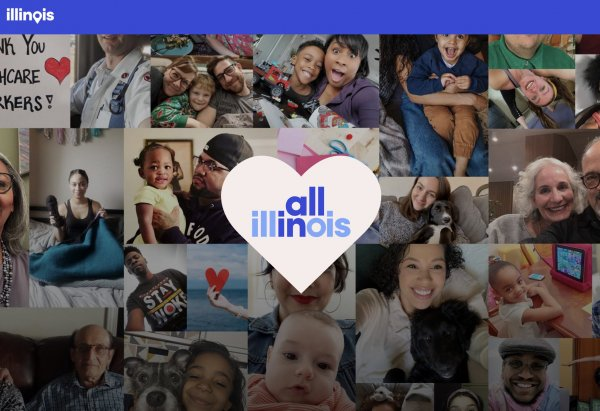 All in Illinois, website for children during the coronavirus