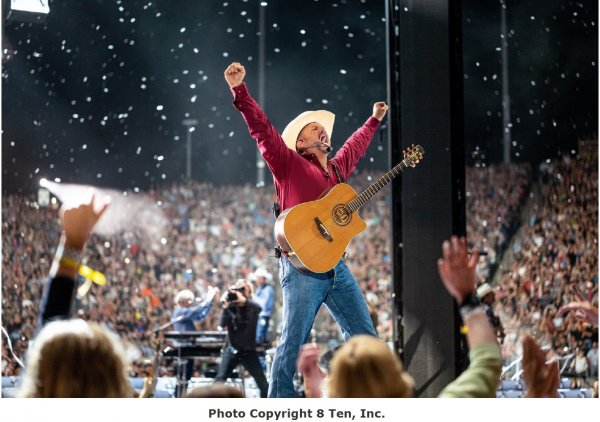 Garth Brooks to perform virtually through Drive-in Theater screens around the country, including at SeatGeek Stadium