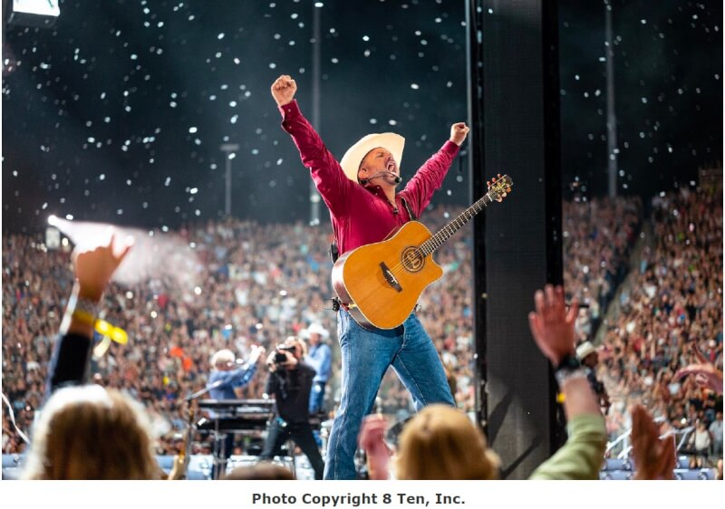 Exclusive Garth Brooks concert to be performed at SeatGeek Stadium and 300 venues across America