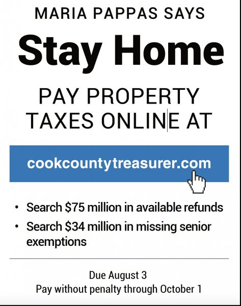Pappas Ad pay property taxes online