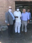 Dr. Wilson donates face masks to Chicagoland's Arab American Community
