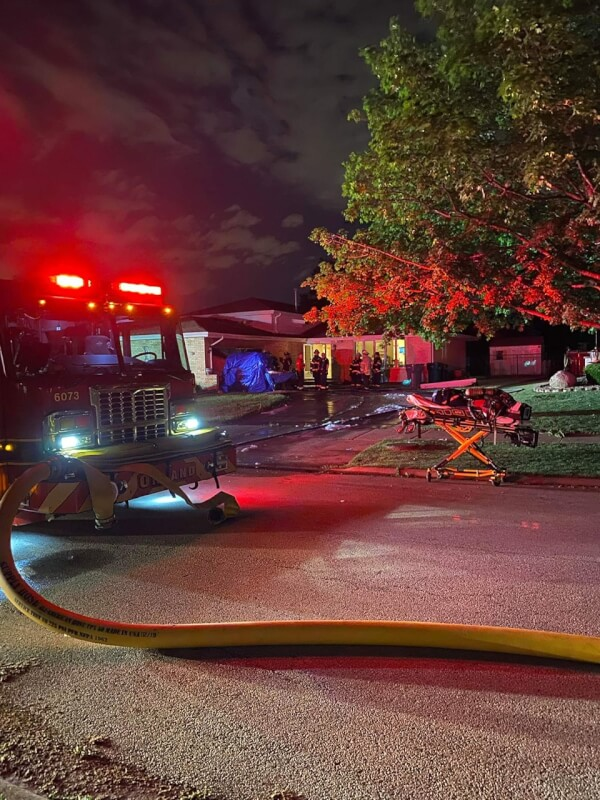 Fire damages home in Orland Park June 12