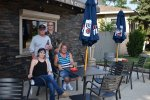 Small beer gardens OK in Lyons