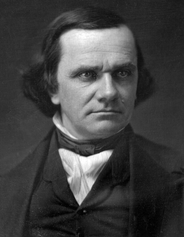 Madigan directs removal of Stephen Douglas portrait from State House Building