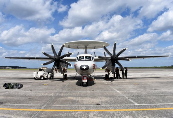 Norfolk based aircraft stands by for Hurricane Michael relief