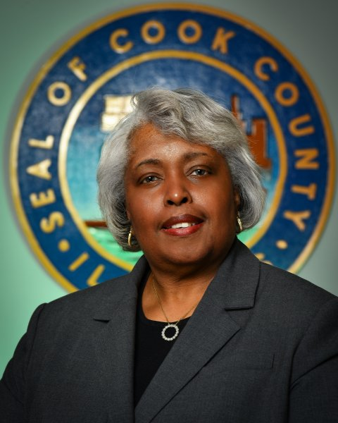 Cook County Commissioner Deborah Sims, courtesy of the Cook County Board
