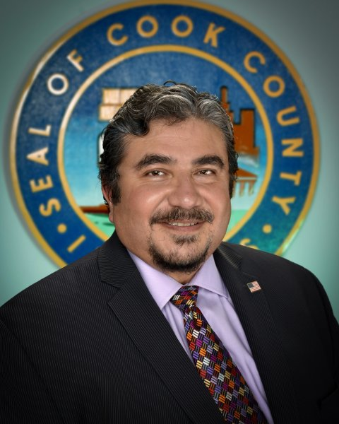 Cook County Commissioner Frank Aguilar