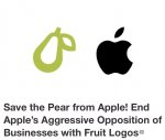 Apple sues company for using fruit as its logo. Photo courtesy of Change.org