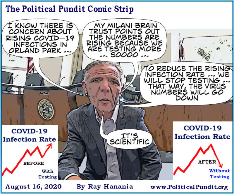 Political Pundit: Mayor Pekau's strategy to lower the rising COVID-19 infections