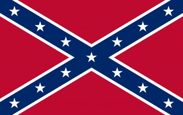 Confederate Flag courtesy of Wikipedia