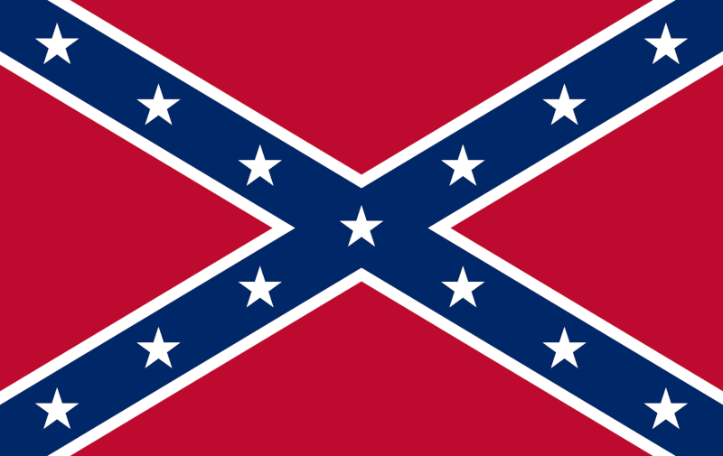 Confederate Flag courtesy of Wikipedia