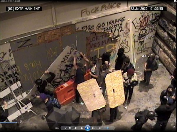 74 suspects charged with Federal crimes in Portland protest violence. Photo courtesy of the US Dept. pf Justice