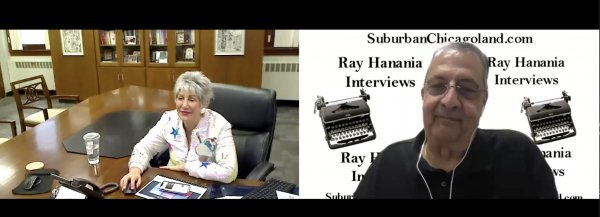 Maria Pappas interview with Ray Hanania on property tax increass