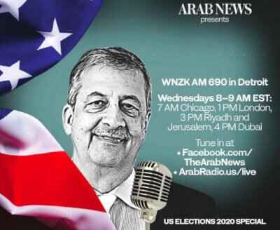 "Chicago columnist to host ""Special Election Coverage"" on Arab radio in Detroit"
