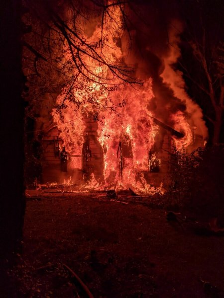 The Orland Fire Protection District (OFPD) responded to a 911 Fire Emergency call at around 11:30 PM on Sunday (Oct. 4, 2020) at a residential home located at 15540 117th Ave, in Orland Park.
