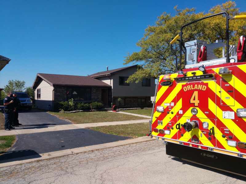 Tinley firefighters rescue two children from apartment fire