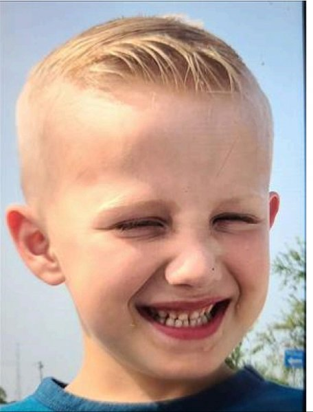 Liam Barbarasa, 4, was in vehicle stolen in Bridgeview on Nov. 17, 2020. Photo courtesy of the Bridgeview Police Department