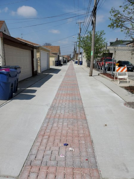 Town of Cicero Alley. Courtesy of the Town of Cicero