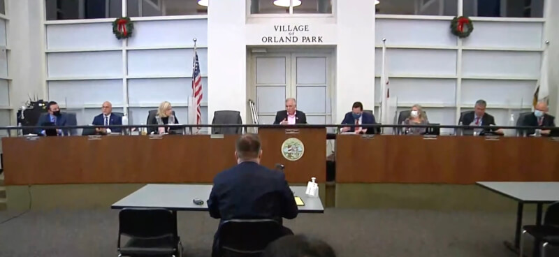 Village of Orland Park votes down law requiring the wearing of face masks
