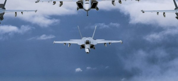 US Navy Air Fighter Jets. Photo courtesy of the US Navy