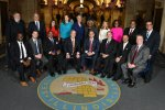 The 2020 Cook County Board of Commissioners. Courtesy of the Cook County Board