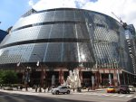 The James R. Thompson Center (JRTC) is located at 100 W. Randolph Street in the Loop, Chicago, Illinois and houses offices of the State of Illinois. The building opened in May 1985 as the State of Illinois Center and was renamed in 1993 to honor former Illinois Governor James R. Thompson. Photo courtesy of Wikipedia