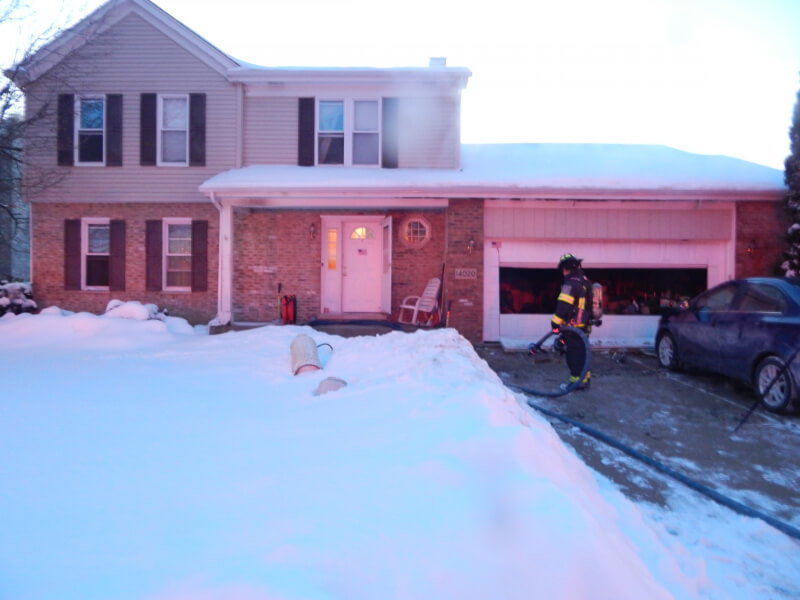 Fire at Orland Park home; firefighters urge residents to clear snow from nearby fire hydrants