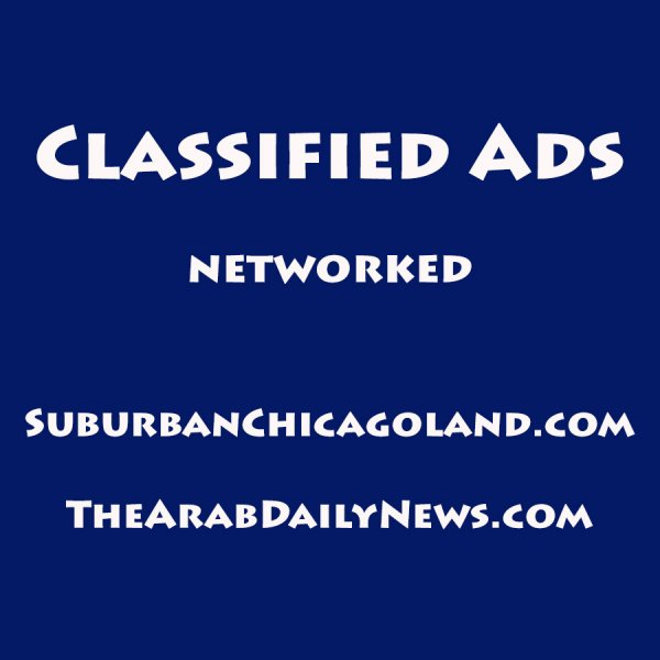 Classified Ads at SuburbanChicagoland.com and TheArabDailyNews.com