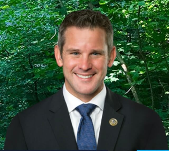 16th District Congressman Adam Kinzinger from the U.S. Government website.