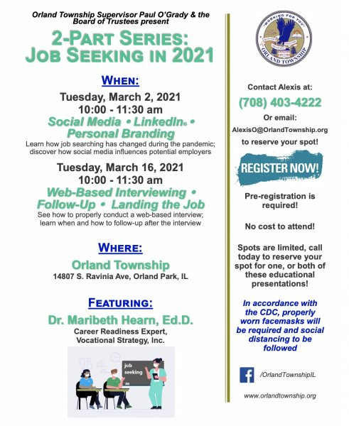 Job program in Orland Township