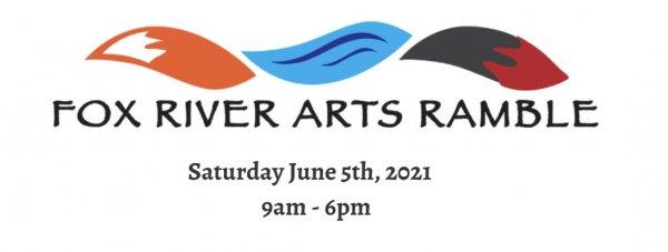 Fox River Arts Ramble logo