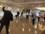 Orland Township seniors are happy to get back to their favorite Township fitness classes, including Joints in Motion. Photo courtesy of Orland Township