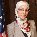 Tasneem Abuzir, candidate for Palos Township trustee. Photo courtesy of Tasneem Abuzir's Facebook page.
