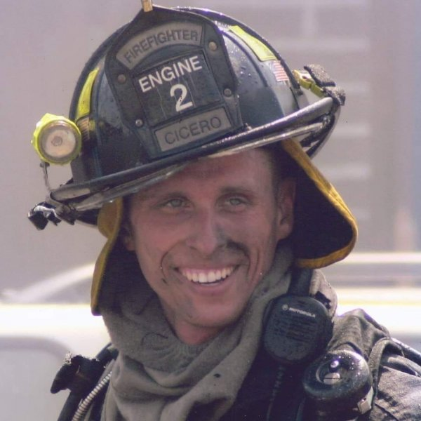 Cicero Firefighter Ted Polashek. Photo courtesy of the Cicero Fire Department and Polashek Facebook Page