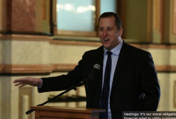 Illinois Senator Michael Hastings. Courtesy of Senator Hastings