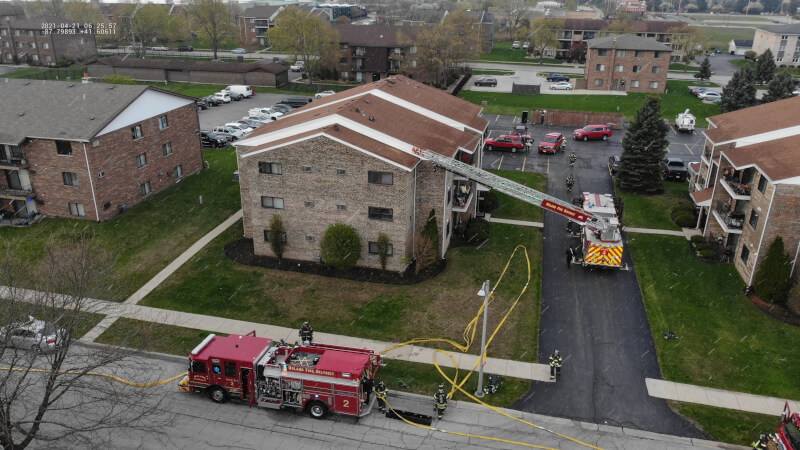 Fire damages bathroom and attic in Orland Park home, no injuries