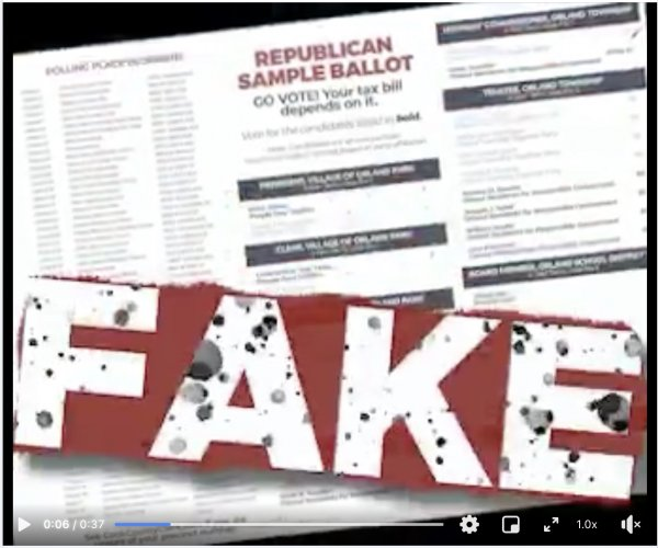 "Gorman slams Pekau's ""fake Republicans"" in video ads"