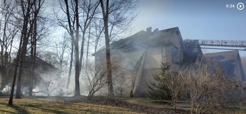 Fire in Orland Park home spreads to gazebo, deck and wood fence