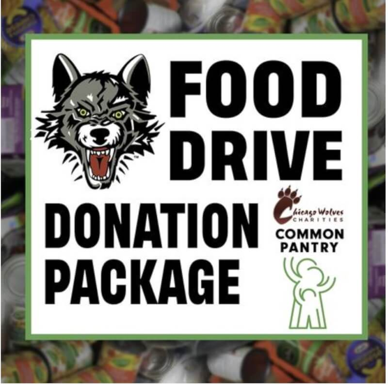 Chicago Wolves host food drive Saturday April 24