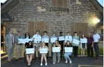 Orland Township presents Scholarship awards