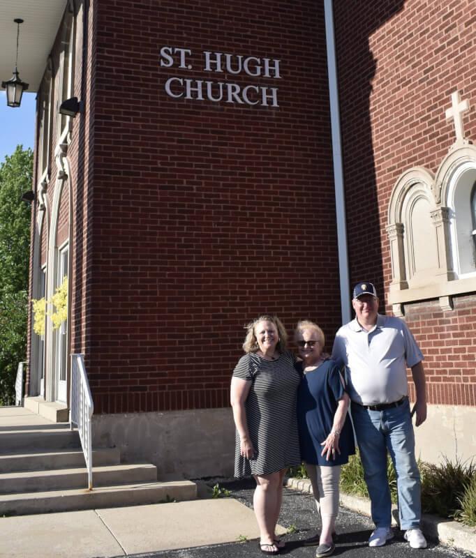 Farewell picnic for St. Hugh